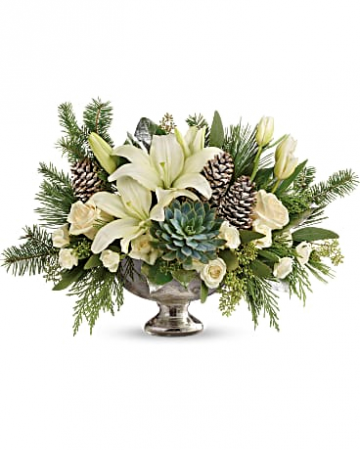 WINTER WILD CENTERPIECE