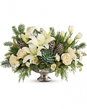 Winter Wild Centerpiece Premium  in Sunrise, FL | FLORIST24HRS.COM