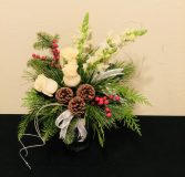 Winter Winds Vase Arrangement