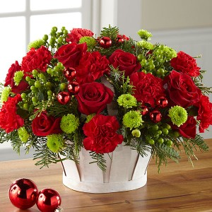 Winter Wishes Basket Christmas