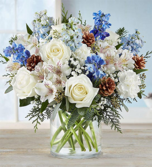 Winter Wishes Bouquet  in Mcdonough, GA | Parade of Flowers