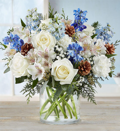 Winter Wishes Bouquet From Roma Florist
