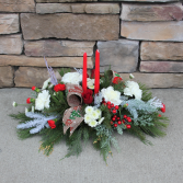 Winter Wishes Christmas Centerpiece