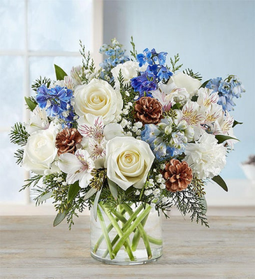 Winter Wishes Vase Arrangement
