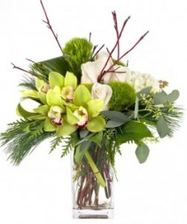 Wonderful Cymbidiums Vased Arrangement