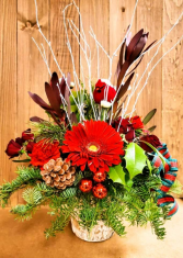 Woodland Holiday Arrangement