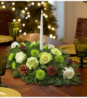 Winter Wonderland™ Centerpiece in Croton On Hudson, NY | Cooke's Little Shoppe Of Flowers