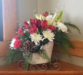 Winter Wonderland Floral Arrangement