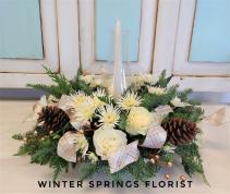 Winter Wonderland Holiday Centerpiece