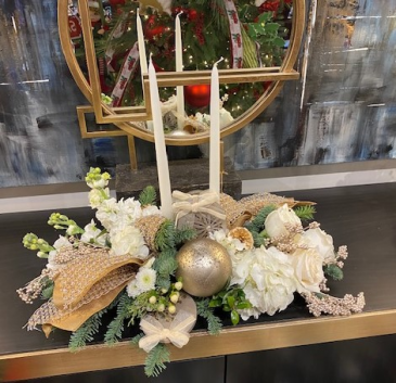 Winter Wonderland Holiday Centerpiece