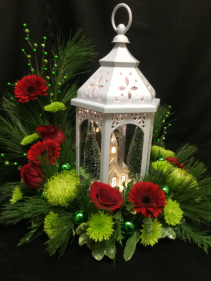 Winter Wonderland Lantern Centerpiece