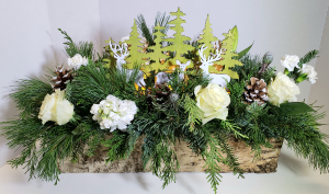 Winter Wonderland Seasonal Arrangement in Delta, BC | FLOWERS BEAUTIFUL