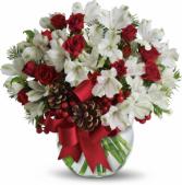 WINTER WONDERLAND Vase arrangement