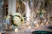 Winter Wonderland Wedding Table Centerpiece