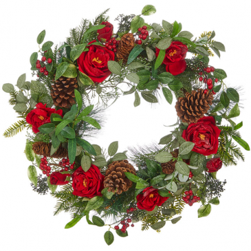Winter Wonderland Wreath (Faux)
