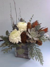 Winter Woodland Flower Arrangement