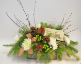 Winter Woods Centerpiece