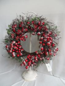 Winter Wreath 11 Silk Wreath