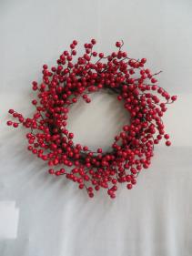 Winter Wreath Silk 12 Silk Wreath