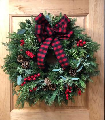 Winter Wreath  T&V Original Design