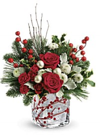 Winterberry Kisses Bouquet in Bryan, OH   Farrell's Lawn & Garden and Flowers
