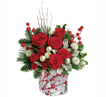 Winterberry Kisses Bouquet Christmas