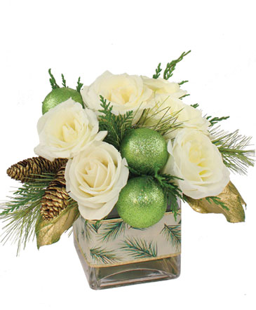 Wintergreen Roses Arrangement