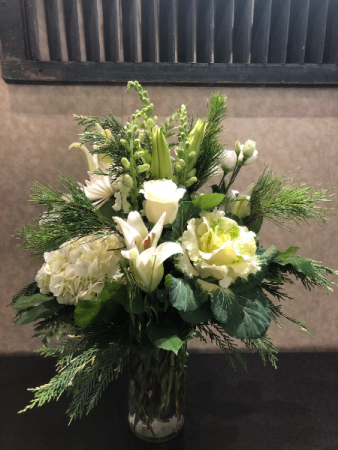 Winter's Bliss Vase Arrangement