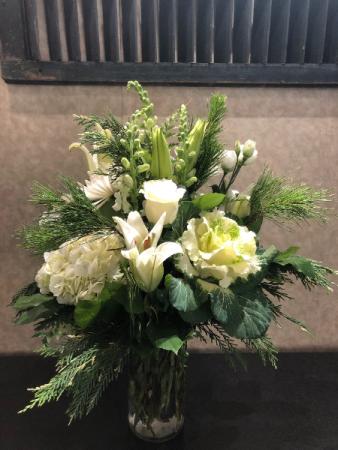 Winter's Bliss Vase Arrangement
