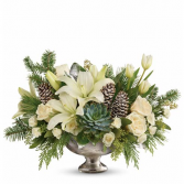 WINTER'S ELEGANCE CENTERPIECE