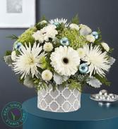 Winter's Frost Flower Arrangement