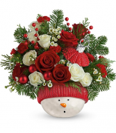 Winter's Fun Ornament Bouquet T20X405-B
