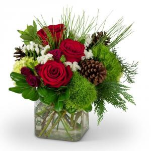 Midway's Wintertime Beauty Arrangement in Kannapolis, NC | MIDWAY FLORIST OF KANNAPOLIS
