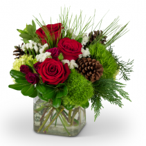 Wintertime Beauty Christmas Arrangement