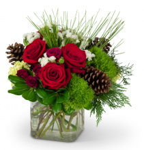Wintertime Blooms Arrangement