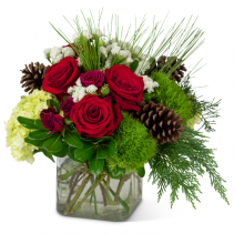 Wintertime Glow Arrangement