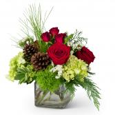 Wintertime Wishes Arrangement