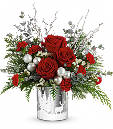 Wintery Wishes Bouquet Christmas Flowers