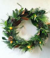 Wintry Nature Wreath
