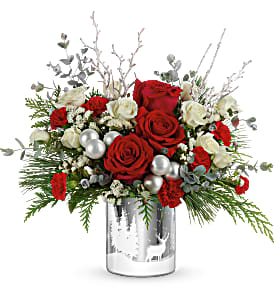 WINTRY WISHES BOUQUET CHRISTMAS