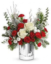 Wintry Wishes Bouquet Christmas Keepsake Arrangement
