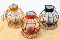 Wire Globe Lantern Lantern