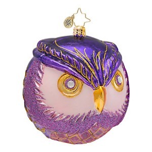 Wise One Christopher Radko Ornament