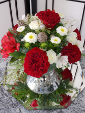 Wish You A Merry Christmas Fresh Arrangement