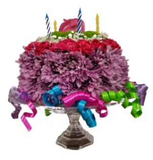 Wishes Come True Birthday Cake *** Acacia Exclusive *** in Hesperia, CA | ACACIA'S COUNTRY FLORIST