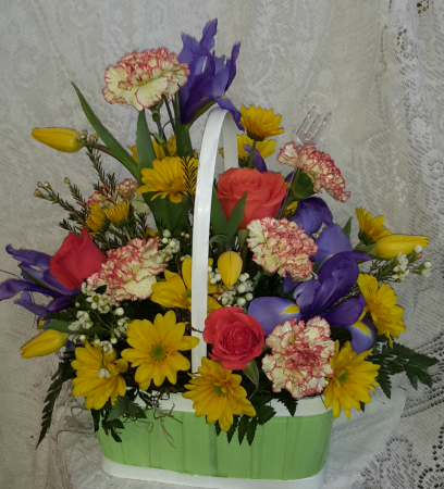 Wishing Spring Birthday In North Salem In Garden Gate Gift