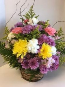 Wishing You the Best! Elegant Basket