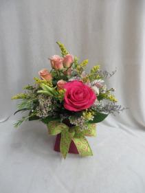 Wishing You Well Fresh Vased Arrangement