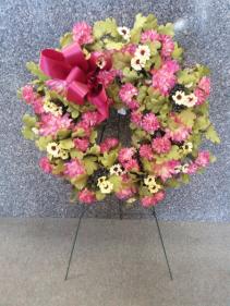 Wistful Wildflower Silk Wreath