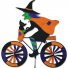 Witch Bicycle Spinner